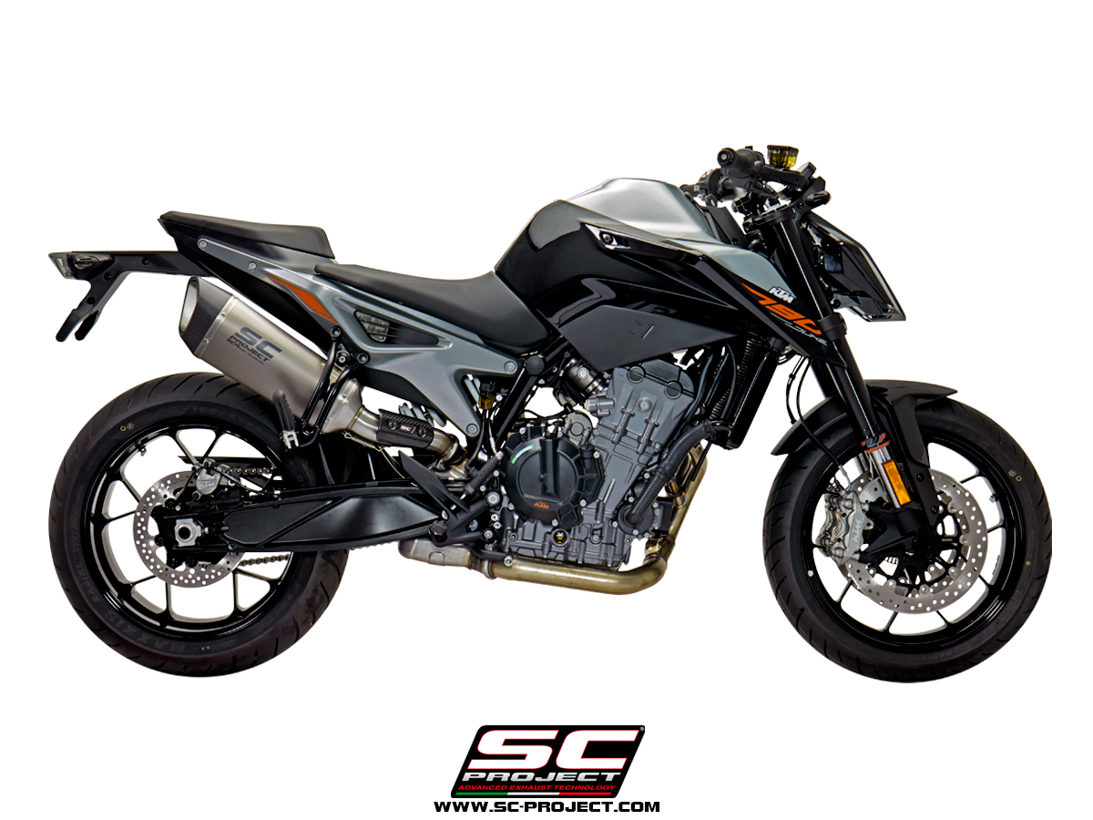 sc1r slipon exhaust ktm 790 duke scproject