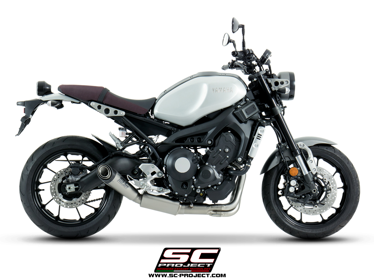 yamaha xsr900 full system exhaust scproject