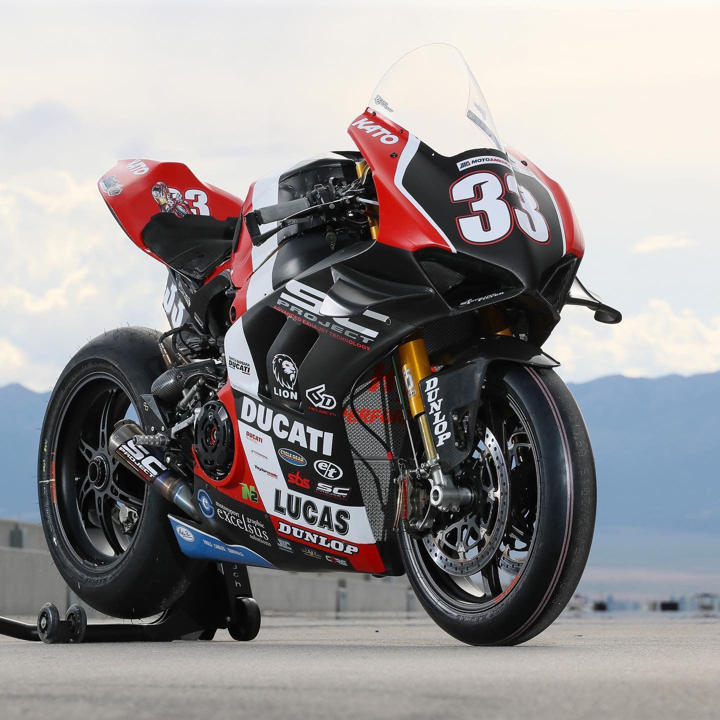 scproject motoamerica panigale r1 kyle wyman exhaust