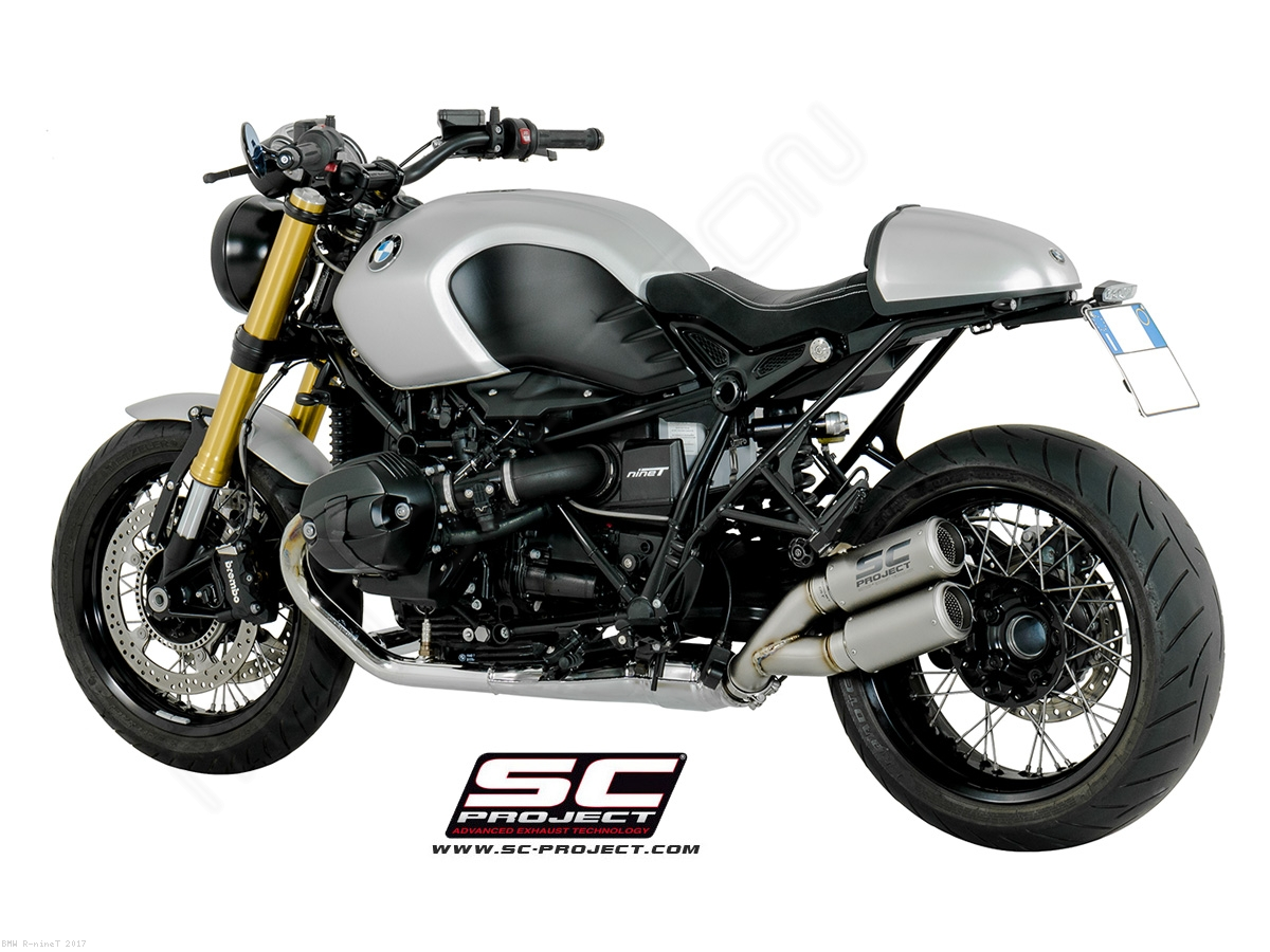 dual cr t exhaust by sc project bmw r ninet 2017 b18. Black Bedroom Furniture Sets. Home Design Ideas