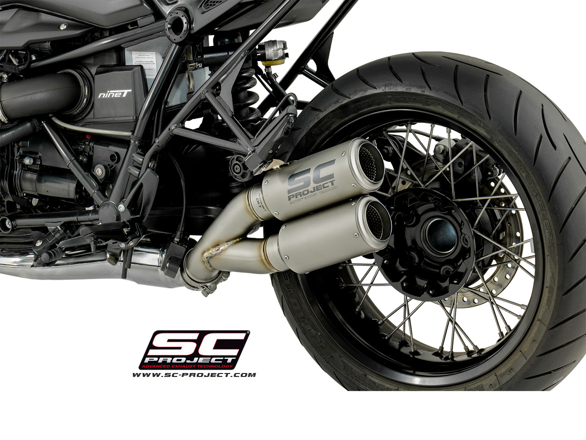 Dual CR-T Exhaust by SC-Project BMW / R nineT / 2017 (B18 ...