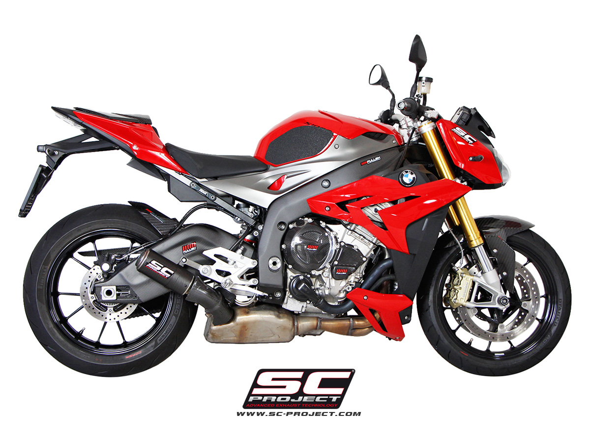 BMW S1000R CR-T Exhaust Systems by SC-Project