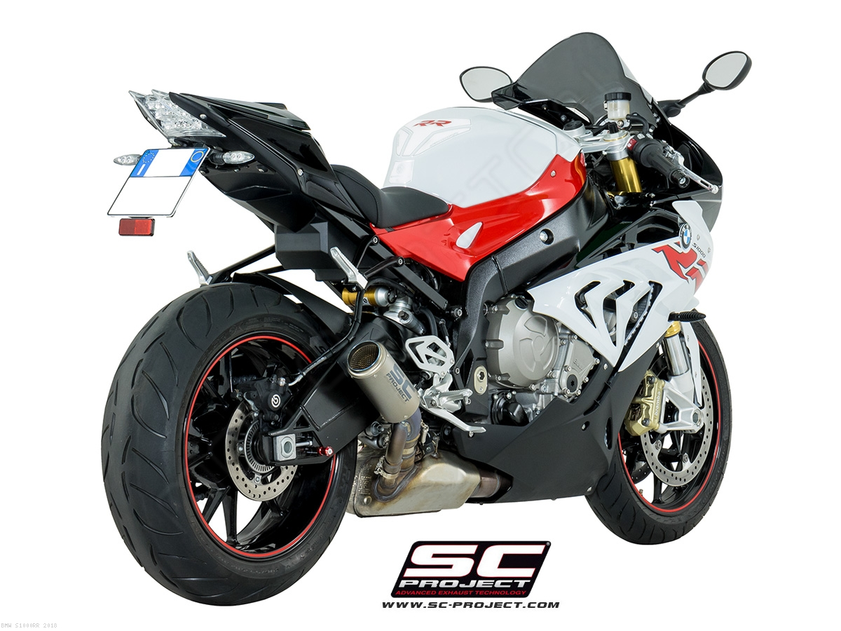 Bmw S1000rr For Sale >> CR-T Exhaust with Titanium Link Pipe by SC Project BMW ...