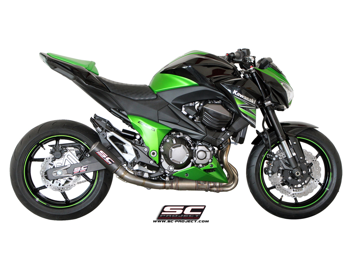 kawasaki z800 cr t exhaust by sc project. Black Bedroom Furniture Sets. Home Design Ideas
