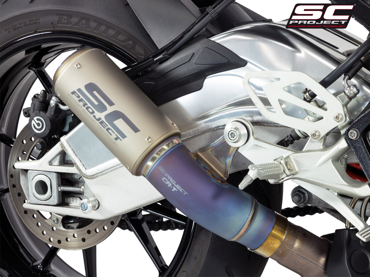 Cr T Exhaust With Titanium Link Pipe By Sc Project B20 T36
