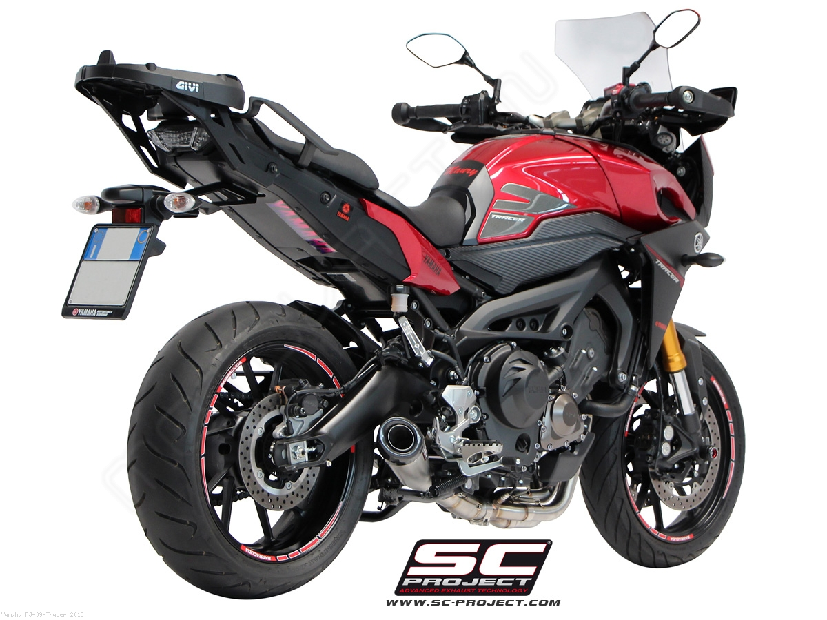 conic 3 1 full system exhaust by sc project yamaha fj 09. Black Bedroom Furniture Sets. Home Design Ideas