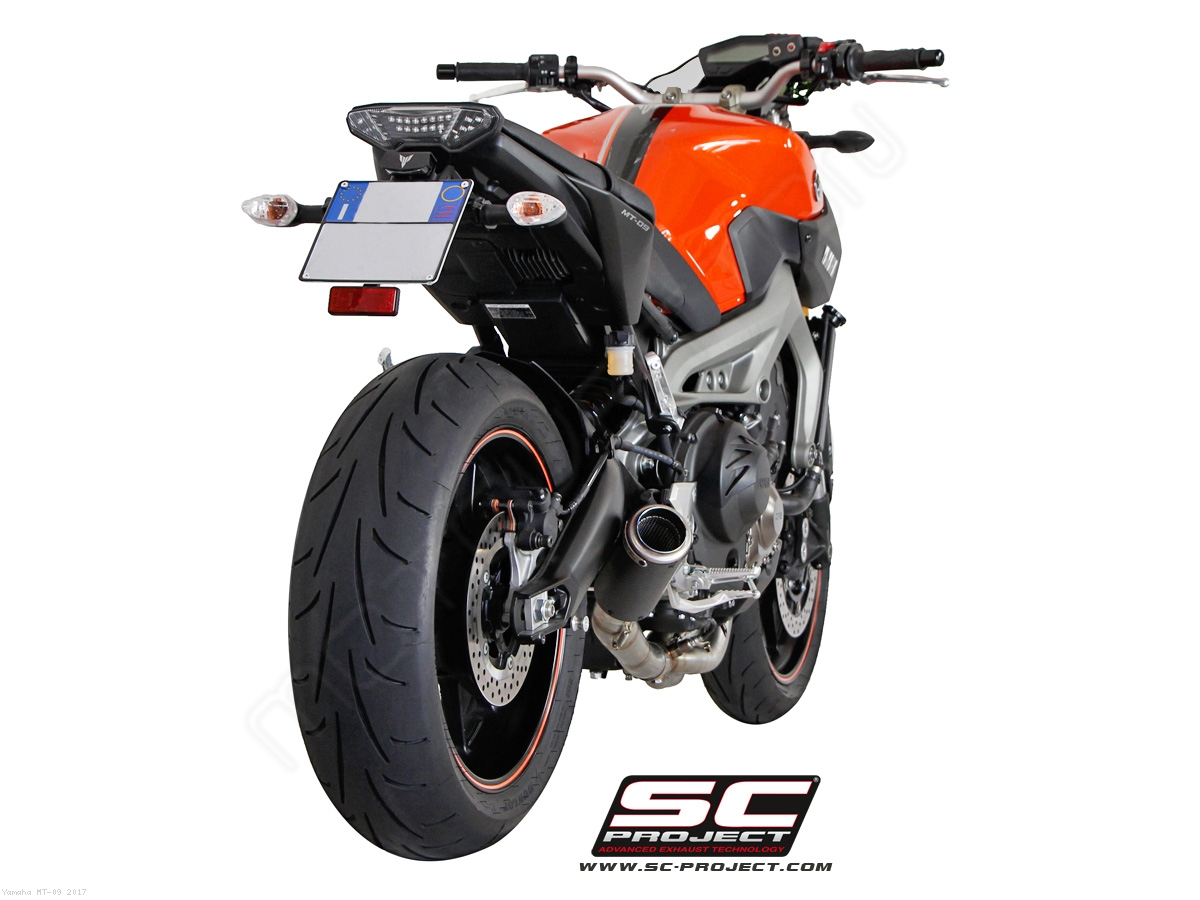 cr t full system exhaust by sc project yamaha mt 09. Black Bedroom Furniture Sets. Home Design Ideas
