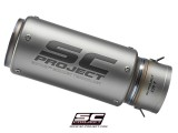 Replacement CR-T Exhaust Silencer for SC-Project 70mm Link Pipe