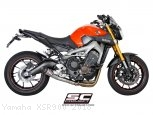 Conic Exhaust by SC-Project Yamaha / XSR900 / 2018