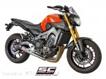 Conic Exhaust by SC-Project Yamaha / MT-09 / 2014
