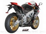 Oval Exhaust by SC-Project Aprilia / RSV4 Factory APRC / 2011