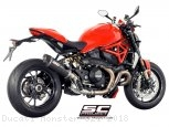 Oval Exhaust by SC-Project Ducati / Monster 821 / 2018