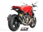 Dual GP-Tech Exhaust by SC-Project Ducati / Monster 1200 / 2015