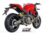 CR-T Exhaust by SC-Project Ducati / Monster 821 / 2015