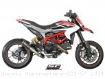 CR-T Exhaust by SC-Project Ducati / Hypermotard 821 SP / 2014