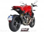Oval Exhaust by SC-Project Ducati / Monster 1200S / 2015