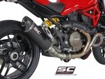Oval Exhaust by SC-Project Ducati / Monster 1200S / 2014
