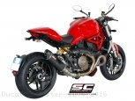 Oval Exhaust by SC-Project Ducati / Monster 1200 / 2016