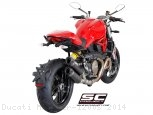 Dual GP-Tech Exhaust by SC-Project Ducati / Monster 1200S / 2014