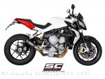 CR-T Exhaust by SC-Project MV Agusta / Brutale 800 / 2015