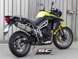 Oval Exhaust by SC-Project Triumph / Tiger 800 / 2014