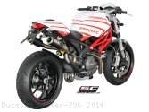 CR-T Exhaust by SC-Project Ducati / Monster 796 / 2014