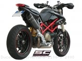 Oval Exhaust by SC-Project Ducati / Hypermotard 1100 S / 2008