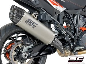 """Adventure"" Exhaust by SC-Project KTM / 1290 Super Adventure / 2018"