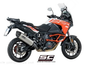 """Adventure"" Exhaust by SC-Project KTM / 1190 Adventure / 2015"