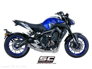 S1 Exhaust by SC-Project Yamaha / MT-09 / 2018