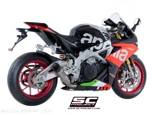 S1 Exhaust by SC-Project Aprilia / RSV4 RF / 2019