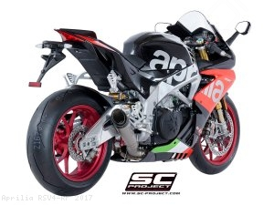 S1 Exhaust by SC-Project Aprilia / RSV4 RF / 2017