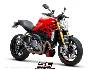 CR-T Exhaust by SC-Project Ducati / Monster 1200R / 2016