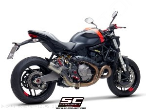 CR-T Exhaust by SC-Project Ducati / Monster 1200S / 2018