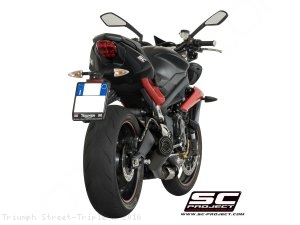 Conic Exhaust by SC-Project Triumph / Street Triple R / 2016