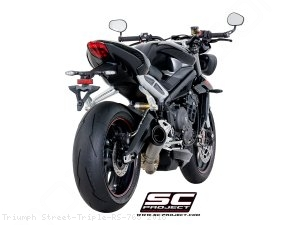 S1 Exhaust by SC-Project Triumph / Street Triple RS 765 / 2018