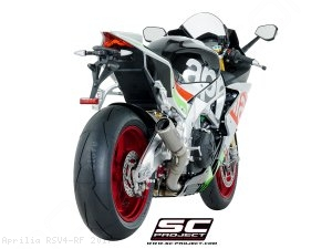 CR-T Exhaust by SC-Project Aprilia / RSV4 RF / 2017