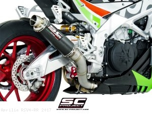GP65 Exhaust by SC-Project Aprilia / RSV4 RR / 2017