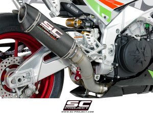 Race Oval Exhaust