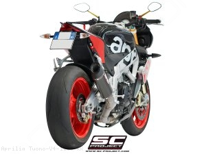 Race Oval Exhaust by SC-Project Aprilia / Tuono V4 1100 RR / 2016