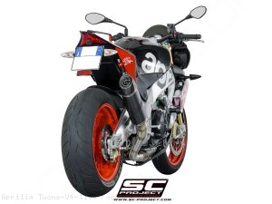 Oval Exhaust by SC-Project Aprilia / Tuono V4 1100 Factory / 2015