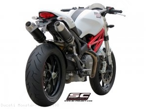 GP Exhaust by SC-Project Ducati / Monster 1100 / 2008