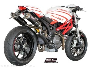 GP Exhaust SC-Project Ducati / Monster 796 / 2012
