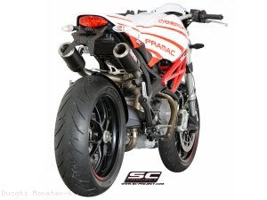 CR-T Exhaust by SC-Project Ducati / Monster 696 / 2010