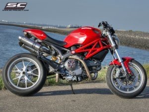 GP-EVO Exhaust by SC-Project Ducati / Monster 796 / 2015