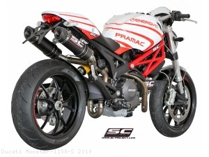 GP-Tech Exhaust by SC-Project Ducati / Monster 1100 S / 2010