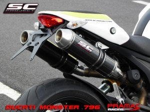 GP-EVO Exhaust by SC-Project Ducati / Monster 1100 / 2010