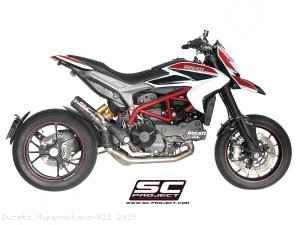 CR-T Exhaust by SC-Project Ducati / Hypermotard 821 / 2015