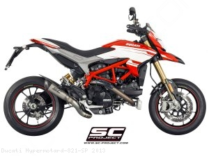S1 Exhaust by SC-Project Ducati / Hypermotard 821 SP / 2013