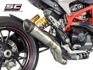 S1 Exhaust by SC-Project Ducati / Hypermotard 939 SP / 2017